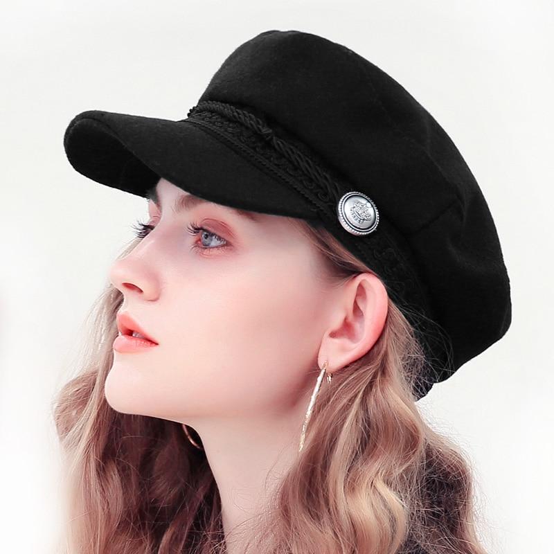 Béret casquette Femme