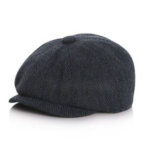 Béret à casquette en coton pour garçon Béret en coton Béret garçons Béret noir Casquette béret