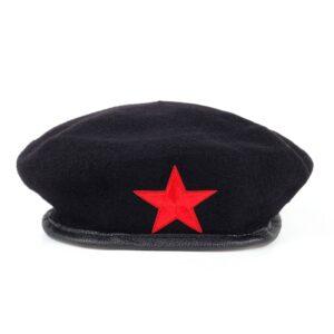 Béret Che Guevara noir Béret en laine Béret femme Béret homme Béret militaire Béret noir