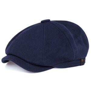 4. Béret casquette hip hop Béret bleu Béret en coton Béret femme Béret gris Béret homme Béret noir Casquette béret