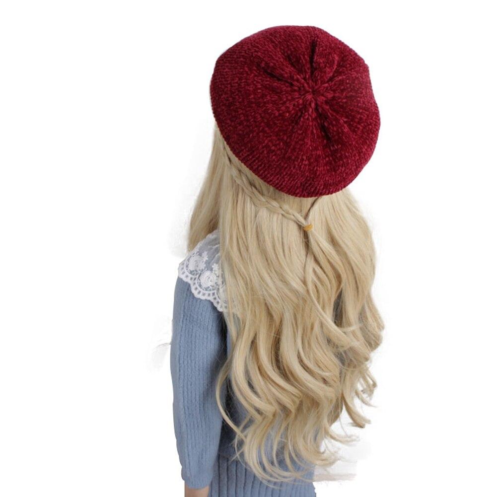 Béret au crochet rouge pour fille Béret au crochet Béret en coton Béret enfant Béret filles Béret par couleur Béret par matière Béret rouge