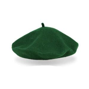 Béret en laine vert menthe Béret en laine Béret femme Béret homme Béret vert