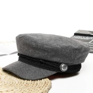 Béret casquette Femme Gris Béret en laine Béret femme Béret noir Béret par couleur Béret par matière Béret par style Casquette béret