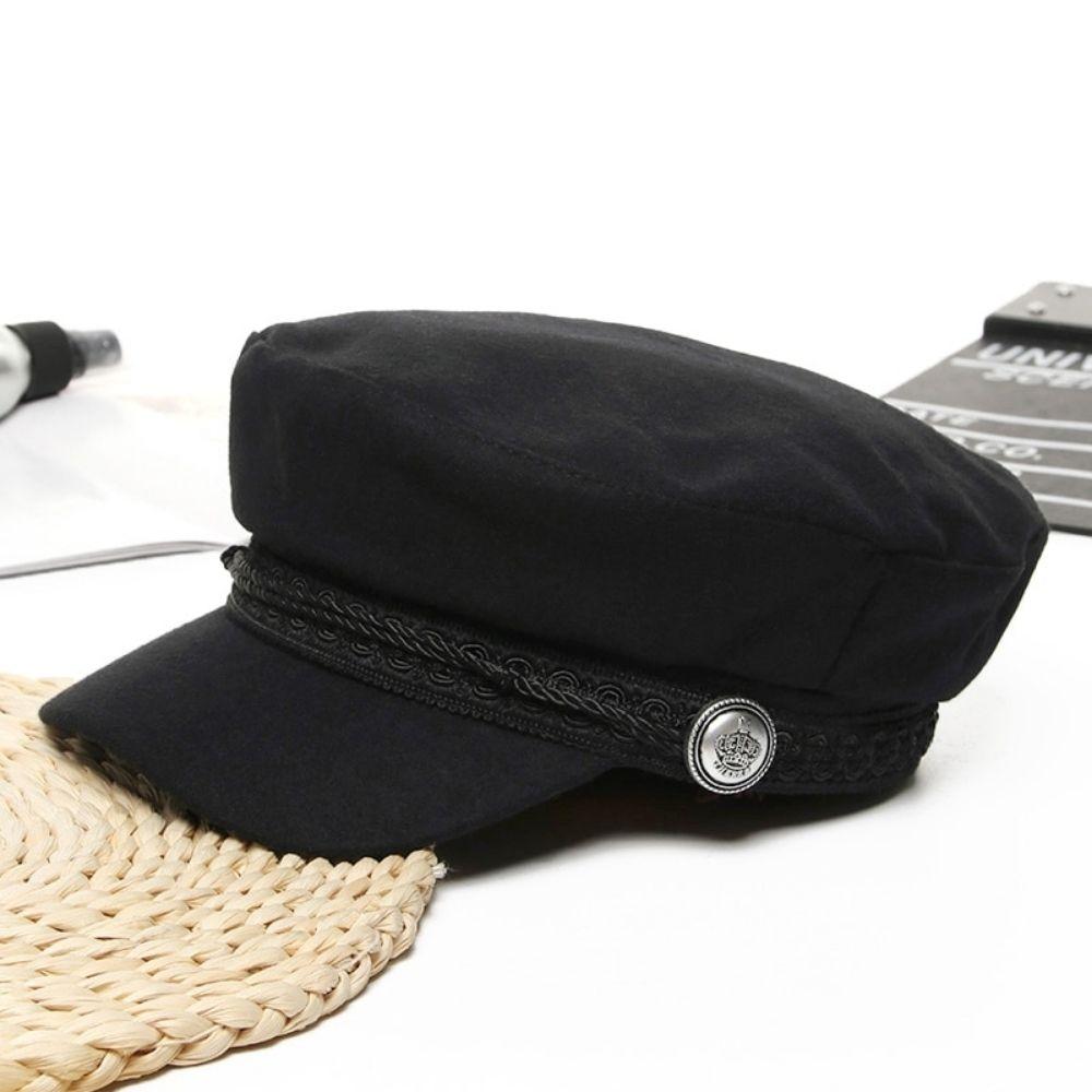 Béret casquette Femme Noir Béret en laine Béret femme Béret noir Béret par couleur Béret par matière Béret par style Casquette béret