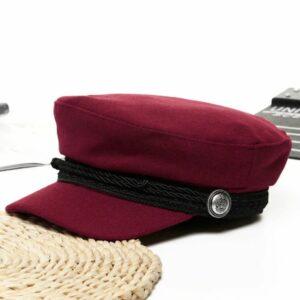 Béret casquette Femme Rouge Béret en laine Béret femme Béret par couleur Béret par matière Béret par style Béret rouge Casquette béret