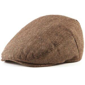 Béret casquette en tweed Béret en laine Béret femme Béret homme Béret irlandais Casquette béret