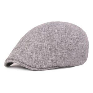 Béret casquette en coton effet jean
