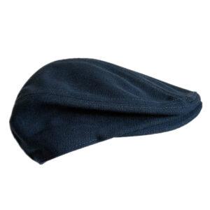 Béret plat 100% coton bleu Béret bleu Béret en coton Béret femme Béret homme Béret irlandais