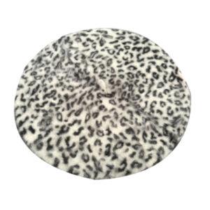 Béret léopard blanc Béret blanc Béret chasseur alpin Béret femme