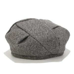 Béret en coton octogonal
