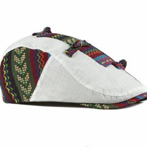 Béret casquette à noeud en coton brodé noir Béret en coton Béret homme Béret noir Casquette béret
